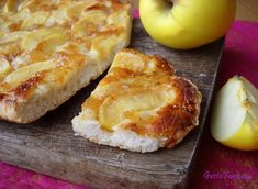 Focaccia morbida alle mele