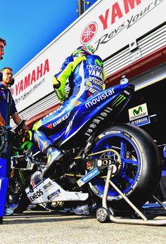 Valentino Rossi got the pole position in Motegi