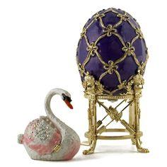 Swan Faberge Egg