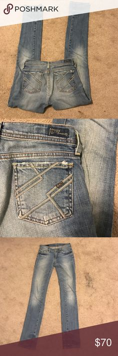 Citizens of humanity jeans I love these jeans. Perfect condition. Only worn a couple of times. I've been hanging onto them hoping I'd lose weight but it's time to let them go. Size 24. Ava straight leg. Electric guitar #222 stretch. Citizens of Humanity Jeans Straight Leg
