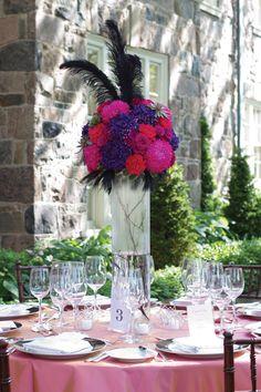 Pink Vintage Wedding Inspired by Marie Antoinette