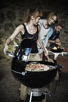 Weber Gourmet BBQ System: Pizzastein