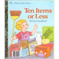 Ten Items or Less: A Counting Book (A Little Golden Book) by Stephanie Calmenson,http://www.amazon.com/dp/0307020134/ref=cm_sw_r_pi_dp_7guftb0J1PRCKSJQ
