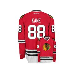 Reebok Edge Premier Chicago Blackhawks Patrick Kane Jersey 2737e92bf