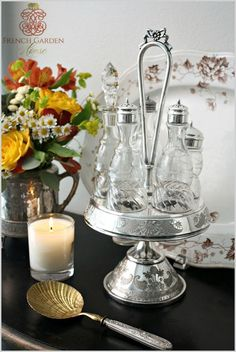 How to Care for & Polish Your Antique and Vintage Silver - French Garden House - Pam Thompson - How to Care for & Polish Your Antique and Vintage Silver - French Garden House glorious sheen, and protects the Silver as well.