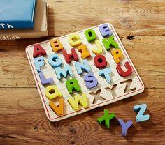 Alphabet Puzzle   Pottery Barn Kids
