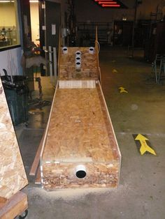 how to build a skee ball machine