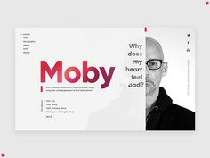 Promo site Moby by Amir Islamov Web Design Mobile, Graphisches Design, Web Ui Design, Page Design, Layout Design, Flat Design, Graphic Design, Website Layout, Web Layout