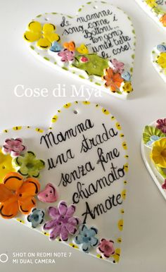 Good Morning Messages, Mamma Mia, Valentine Decorations, Kids Gifts, Decoupage, Diy And Crafts, Birthday Cards, Biscotti, Party Ideas