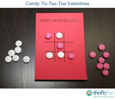 What kid doesn't like tic-tac-toe or candy? These Valentine's are so easy to make and are perfect for a school Valentine's day party!
