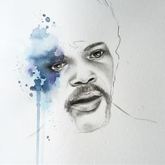 New commissioned Splash Icon #samuelljackson  Who would you like to see as the next splash icon?