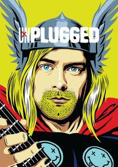 Ilustrador transforma astros da música em super-heróis e o resultado impressiona | SuperVault
