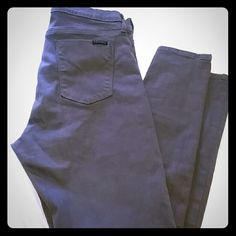 Grey Hudson skinny jeans Worn a couple time in like new condition soft grey Hudson Jeans Pants Skinny