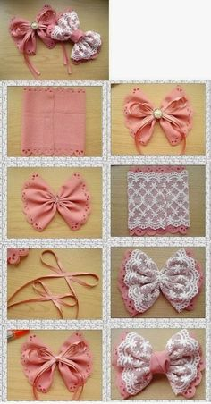 10 DIY Hair Bow Tutorials for Girls - Pretty Designs DIY Bow bows diy crafts home made easy crafts craft idea crafts ideas diy ideas diy crafts diy idea do it yourself diy projects diy craft handmade gift bow kurdela DIY Bows :) gonna have to try this out Diy Hair Bows, Diy Bow, Diy Ribbon, Ribbon Crafts, Ribbon Bows, Ribbons, Diy Crafts, Ribbon Flower, Diy Flower