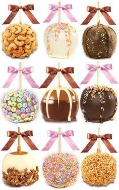 Receta de Manzanas de Chocolate   Fiestas infantiles y cumpleaños de niños