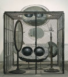Louise Bourgeois: artist and sculptor - Cell (Eyes and Mirrors)