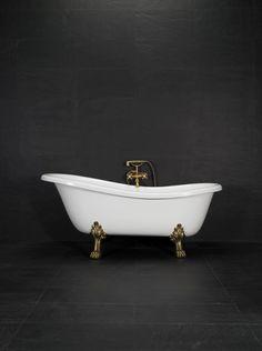 20000692 Westerbergs Victoria 157 badekar cm, l& krom Victoria, Messing, Clawfoot Bathtub, Bathroom, House Ideas, Rome, Washroom, Full Bath, Bath