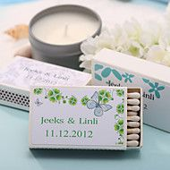 Wedding Décor Personalized Matchboxes - Beautiful Butterfly (Set of 12... – USD $ 6.99