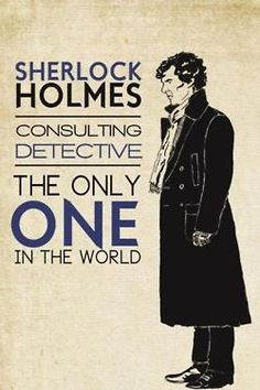 People, I have an announcement...I successfully converted my first regular person into a Sherlockian :) Huzzah!