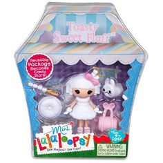 Mini Lalaloopsy   Toasty Sweet Fluff    Candy Cute Collection and Misc    Series 9