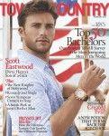Swoon. Scott Eastwood, Clint Eastwood's son. T&C Feb '14 cover