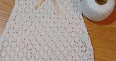 Talla: 0-3 meses   Material necesario:   50 gramos de hilo de algodón mercerizado FINCA nº 8.   Agujas de tejer del 2-2,50 mm y un ga... Baby Pants, Baby Dress, Crochet Baby, Crochet Patterns, Knitting, Crochet Edgings, Grandchildren, Baby Boots, Baby Vest