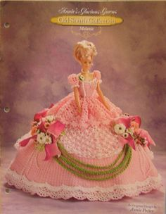 Annie's Attic Old South Glorious Gown Melanie Crochet Bed Doll Pattern