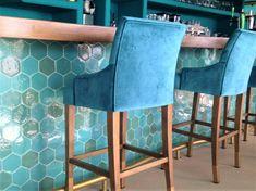 Custom hexagon tile   Handmade Terracotta Terracota, Hexagon Tiles, Bar Stools, Bespoke, Handmade, Furniture, Home Decor, Tiles, Tiles