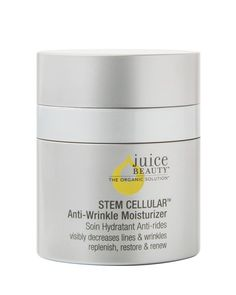 Moisturize with a proprietary blend of fruit stem cells and Vitamin C infused into a resveratrol-rich grape formula to reduce the appearance of fine lines and wrinkles. Certified organic, antioxidant-