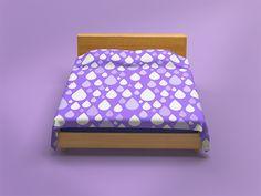 Bed Linen, Linen Bedding, Bedding Sets, Textured Walls, Mockup, Your Design, Mattress, Objects, Flooring