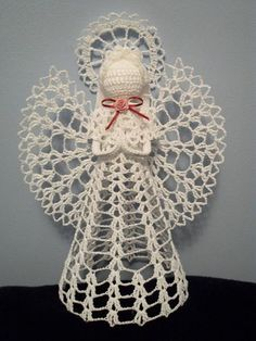 #EFPerfectGift - Crochet-angel-ornaments to make and gift!