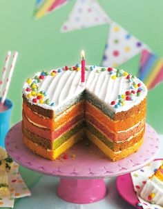 The 211 best asda cakes bakes images on pinterest this rainbow birthday cake is perfect for kids parties get one now for just publicscrutiny Image collections
