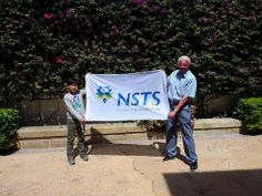 Our youngest and oldest students working as a good team... 8 years old and 82 years old respectively....Thanks for this lovely picture — #nstsmalta #malta #learnenglish #englishschoolmalta