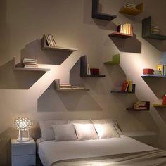 Lagolinea follows your dreams. #lagodesign #interiordesign #shelf www.lago.it/prodotti/lagolinea