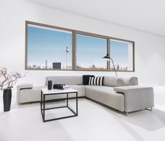 Holz-/Aluminium-Fenstersystem HF 410. Fotocredits: Internorm