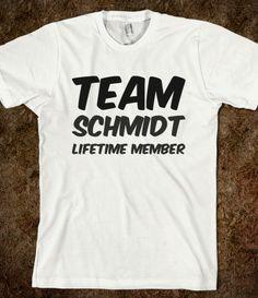 TEAM SCHMIDT LIFETIME MEMBER T SHIRT