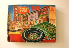 Vintage Roulette Game Nevada Club Golden Nugget by TriBecasVintage, $24.00