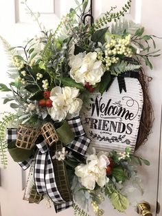 neutral colors Everyday wreath Whole lot of Jesus large bow religious wreath sign attachment