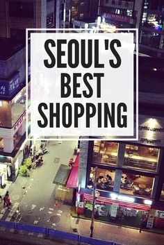 Seoul has TONS of shopping and is the perfect destination for any shopaholic! Check out where the best shopping in Seoul is! Must-Vist Places in South Korea Seoul Korea Travel, South Korea Seoul, Asia Travel, Travel Tips, Travel Destinations, Travel Goals, Budget Travel, Travel Guides, Travelling Tips
