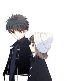 Love Never Fails Love Cartoon Couple, Chibi Couple, Manga Couple, Anime Love Couple, Couple Art, Manga Anime, Anime Couples Manga, Cute Anime Couples, Anime Guys