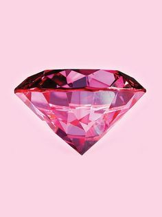 pink diamonds are a girly girls best friend Hot Pink, Pink Love, Pretty In Pink, Vintage Pink, Tout Rose, I Believe In Pink, Everything Pink, Diamond Are A Girls Best Friend, Pink Aesthetic