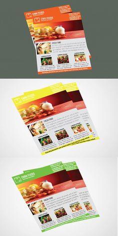 Omni Food Flyer Templates
