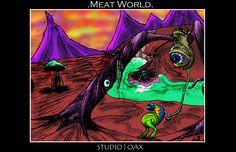 Meat World- The Art of Stephen Guptill