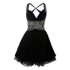 I want this little black dress