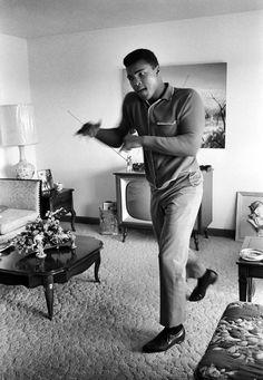 Muhammad Ali,my favorite boxer always clean cut