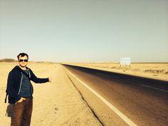 Per Anhalter durch die Wüste