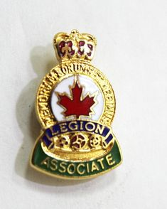 Canadian Legion Associate Hat Pin or Lapel Pin Hat Pins, Lapel Pins, Store, Hats, Accessories, Ebay, Hat, Storage, Shop