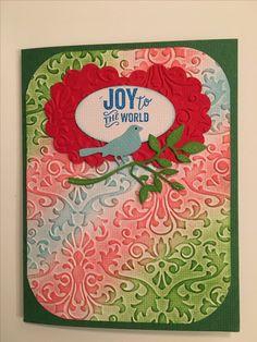 Christmas card for niece Kayla. 12/17/16