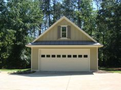 http://www.exovations.com - love this detached garage makeover - window addition