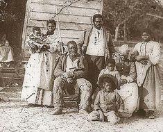 Five generations on Smith's Plantation, Beaufort, South Carolina